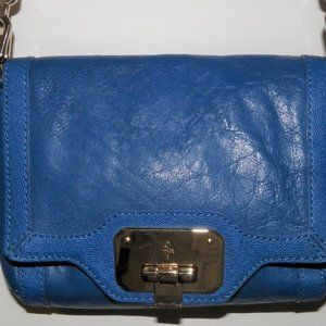 COLE HAAN Blue Leather Purse